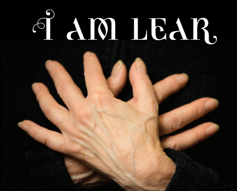 I Am Lear folded hands Liz Linder Photography