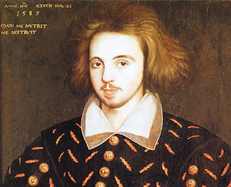 Christopher Marlowe portrait