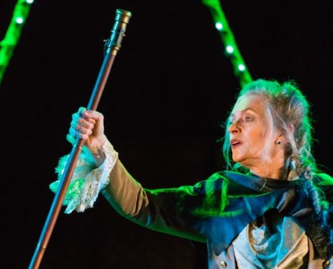 Marya Lowry as Prospero in The Tempest
