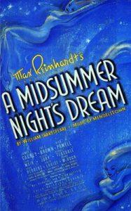 Poster for Max Reinhardt's A Midsummer Night's Dream