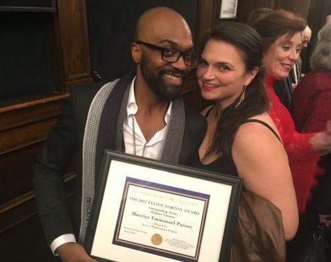 Maurice Emmanuel Parent and Kimberly Dawson at Norton Awards 2017